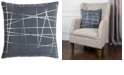 """Rizzy Home Rachel Kate 20"""" x 20"""" Abstract Pillow Cover"""