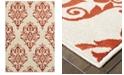 "Oriental Weavers CLOSEOUT!  Jayden 7412D Ivory/Rust 7'10"" x 10'10"" Area Rug"