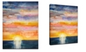 Ready2HangArt 'Beautiful Sunset' Canvas Wall Art, 30x20""