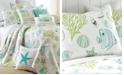 Levtex Biscayne Coastal Print Reversible Full/Queen Quilt Set