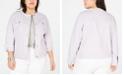 Levi's Trendy Plus Size Cotton Denim Trucker Jacket