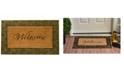 "Home & More Prestige 18"" x 30"" Coir/Rubber Doormat Collection"