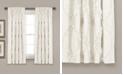 "Lush Decor Avon Ruffle 54"" x 63"" Single Curtain Panel"