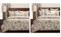Siscovers Isabella Natural Floral 5 Piece Twin Luxury Duvet Set