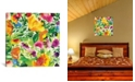 """iCanvas """"July Bouquet Ii"""" By Kim Parker Gallery-Wrapped Canvas Print - 18"""" x 18"""" x 0.75"""""""