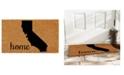 "Home & More California 18"" x 30"" Coir/Vinyl Doormat"