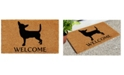 "Home & More Chihuahua 17"" x 29"" Coir/Vinyl Doormat"
