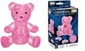 BePuzzled 3D Crystal Puzzle-Teddy Bear Pink - 41 Pcs