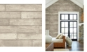 "Brewster Home Fashions Weathered Nailhead Plank Wallpaper - 396"" x 20.5"" x 0.025"""
