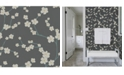 "Brewster Home Fashions Sakura Floral Wallpaper - 396"" x 20.5"" x 0.025"""