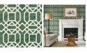 "Brewster Home Fashions Daphne Trellis Wallpaper - 396"" x 20.5"" x 0.025"""