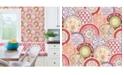 """Brewster Home Fashions Laguna Plate Wallpaper - 396"""" x 20.5"""" x 0.025"""""""