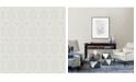 "Brewster Home Fashions Fusion Geometric Wallpaper - 396"" x 20.5"" x 0.025"""