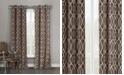 """Duck River Textile Harris 36"""" x 96"""" Trellis Print Blackout Curtain Set"""