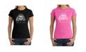LA Pop Art Women's Word Art T-Shirt - Sloth