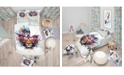 Design Art Designart 'Colorful Tiger In Glasses' Modern Kids Duvet Cover Set - Queen