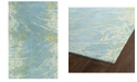 "Kaleen Brushstrokes BRS01-17 Blue 9'6"" x 13' Area Rug"