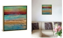 "iCanvas Coastal I by Alicia Dunn Gallery-Wrapped Canvas Print - 26"" x 26"" x 0.75"""