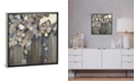 "iCanvas Indigo Oyster Shells by Liz Jardine Gallery-Wrapped Canvas Print - 18"" x 18"" x 0.75"""
