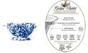 Golden Rabbit Cobalt Swirl Enamelware Collection 1 Quart Colander