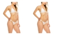 Kendall + Kylie Triangle 2 Piece Swimsuit
