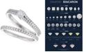 Macy's Certified Diamond Bridal Set (5/8 ct. t.w.) in 14k White Gold