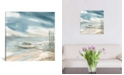 """iCanvas Subtle Mist Ii by Carol Robinson Wrapped Canvas Print - 26"""" x 26"""""""