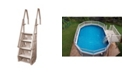 """Vinyl Works Deluxe 24"""" In Pool Step for Above Ground Pools"""