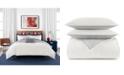 Tommy Hilfiger Quilted Monogram 3 Piece Full/Queen Comforter Set