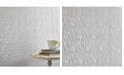 Graham & Brown Graham Brown Silken Stria Silver Mist Wallpaper