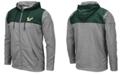 Colosseum Men's South Florida Bulls Nelson Full-Zip Hooded Sweatshirt