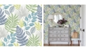 """A-Street Prints 27"""" x 324"""" Palomas Botanical Wallpaper"""
