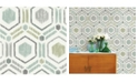 """A-Street Prints 20.5"""" x 396"""" Borneo Light Geometric Wallpaper"""