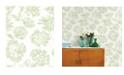 "A-Street Prints 20.5"" x 396"" Folia Light Floral Wallpaper"