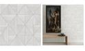 "A-Street Prints 20.5"" x 396"" Cheverny LightGeometric Wood Wallpaper"