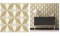 """A-Street Prints 20.5"""" x 396"""" Valiant Geometric Wallpaper"""