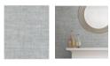 "Advantage 20.5"" x 369"" Lanesborough Weave Texture Wallpaper"