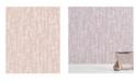 "A-Street Prints A-Street 20.5"" x 396"" Prints Hanko Salmon Abstract Texture Wallpaper"