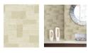 "A-Street Prints 21"" x 396"" Composition Global Geometric Wallpaper"