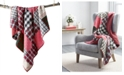 Martha Stewart Collection Holiday Patchwork Quilted Throw, Created for Macy's