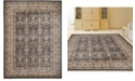 """KM Home CLOSEOUT! 3812/1012/BROWN Gerola Brown 7'10"""" x 10'6"""" Area Rug"""