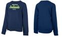 5th & Ocean Big Girls Seattle Seahawks Tie Fleece Pullover
