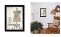 """Trendy Decor 4U Beautiful By Annie LaPoint, Printed Wall Art, Ready to hang, Black Frame, 20"""" x 14"""""""