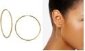 """Argento Vivo Medium Endless Hoop Earrings in 18K Gold-Plated Sterling Silver, 2"""""""