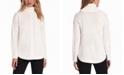 Jones New York Cable-Knit Round-Hem Turtleneck Sweater