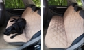 3 Dog Pet Supply Quilted Back Seat Protector