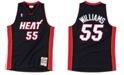 Mitchell & Ness Men's Jason Williams Miami Heat Hardwood Classic Swingman Jersey