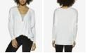 Felina Essentials Modal Twist Front Lounge Top