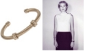 Grace Kelly Collection 18k Gold Plated Crystal Cuff Bracelet