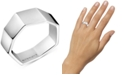 Calvin Klein Angled Ring in Silver-Tone